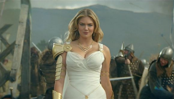Kate Upton Game of War'un Yüzü Oldu