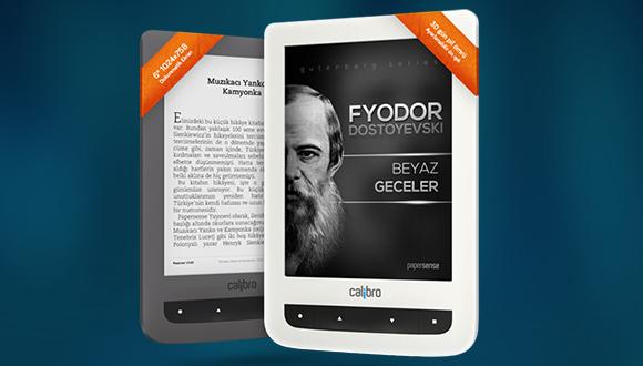 Calibro Touch Lux e-Kitap Okuyucu İncelemesi