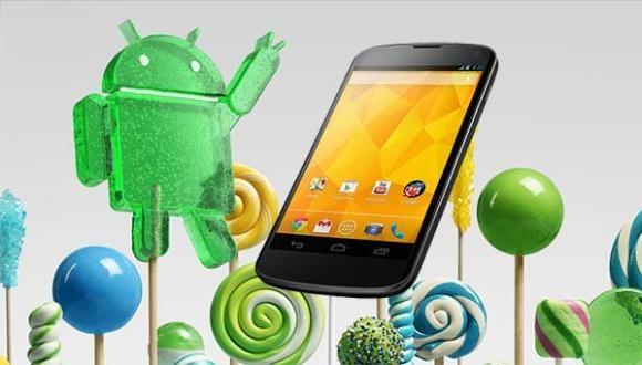 Nexus 4 için Lollipop, OTA ile Geldi!