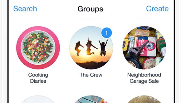 Facebook Gruplar Uygulaması Çıktı!