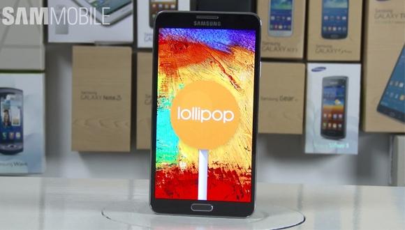 Android 5.0 Yüklü Note 3 Görüntülendi!