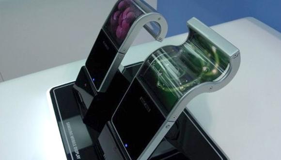 Samsung'dan Katlanan Ekranlı Telefon!