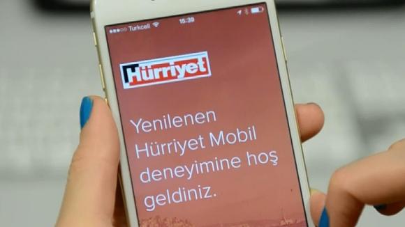 Hürriyet Mobil Yeni Yüzüyle Yayında
