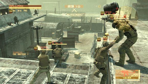 Metal Gear Online Geri Dönüyor