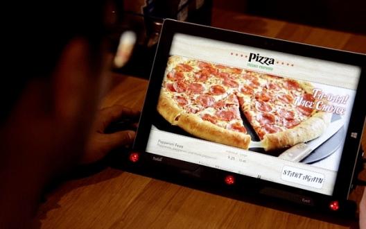 Göz Takip Sistemi ile Pizza Siparişi