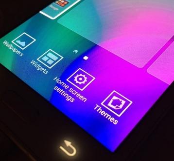 Yeni TouchWiz'den Yeni Görüntüler