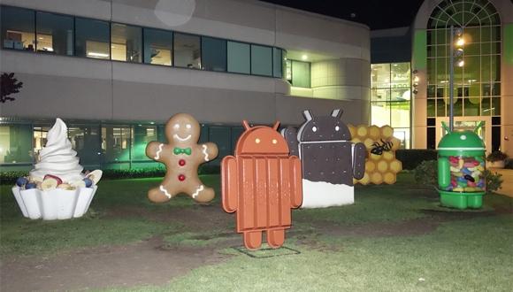 Kasım Ayı Android Kullanım Oranları