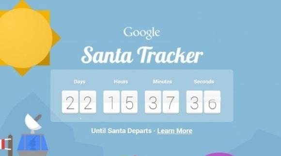 Google'dan Yeni Santa Tracker Sayfası