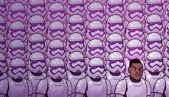 Sanatçılardan Star Wars Filmi Çizimleri