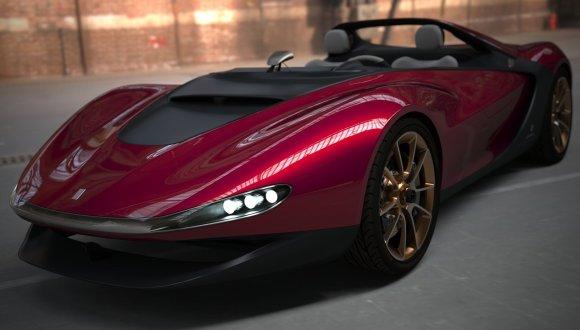 Pininfarina ve Ferrari'den Sergio
