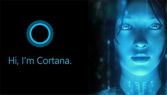 Cortana Windows 10'da Görüntülendi