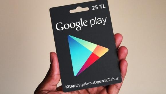 Play Hediye Kartları Türkiye'ye Geliyor!