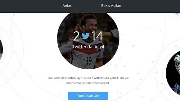 2014'e Twitter İle Göz Atın