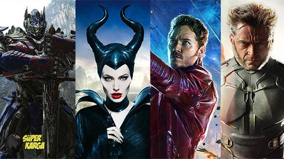 2014'ün En Çok İzlenen Filmleri