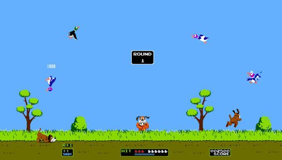 Duck Hunt Tekrardan Sahnede