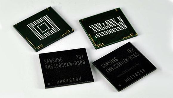 Samsung 4 GB LPDDR4 Üretimine Başladı