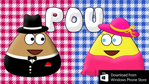 Pou Windows Phone'a Geliyor