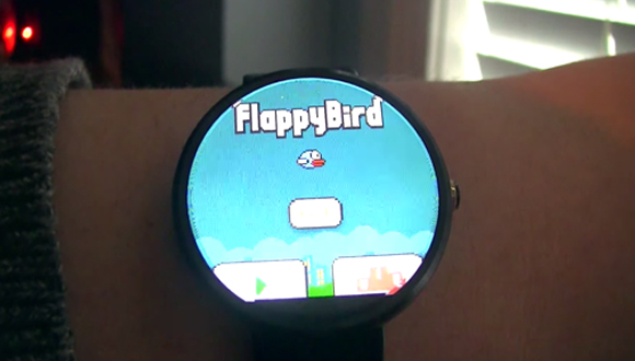 Flappy Bird, Android Wear Saatlerde