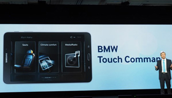 BMW'den Tablet Otomobil Projesi