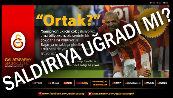 Galatasaray.org  Saldırıya Uğradı!