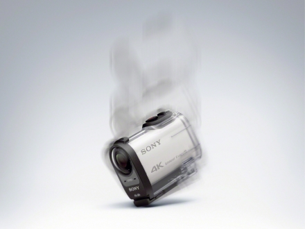 Sony 4K Action Camera Elimizde!