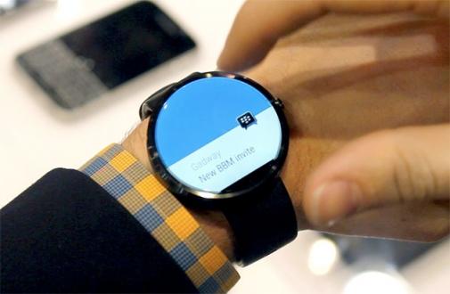 BBM, Android Wear'a Geliyor