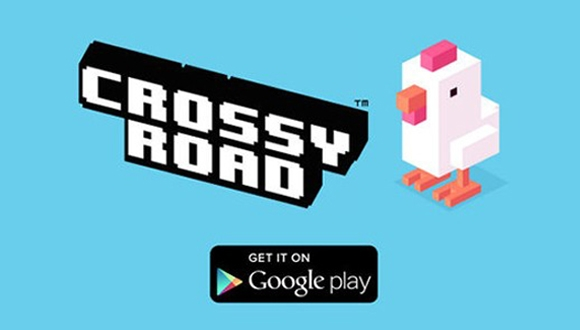 Crossy Road Android'e Geldi!