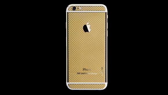 24K Altın iPhone 6