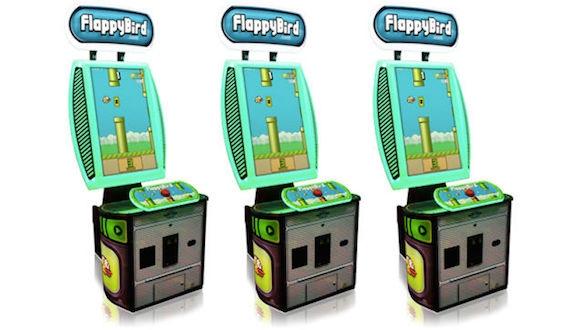 Flappy Bird Arcade'e Geldi!