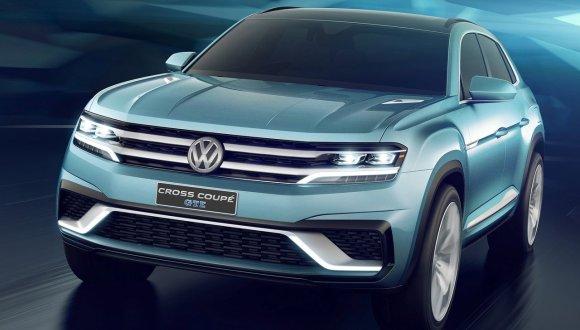 Volkswagen'den Cross Coupe GTE Konsepti