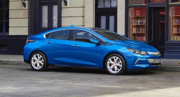 Chevrolet Volt 2016 Görücüye Çıktı