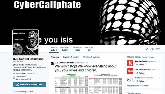 ABD Ordusu Sosyal Medyada Hack'lendi