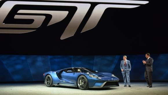 Yeni Ford GT 2017 Tanıtıldı