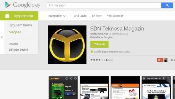 Google Play Web Store Yenileniyor!