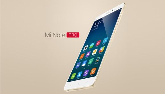 Snapdragon 810'lu Xiaomi Mi Note Pro!