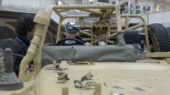 Oculus Rift İngiliz Ordusu'nda!