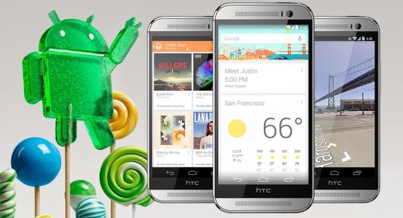 HTC'nin Lollipop Takvimi Sızdırıldı