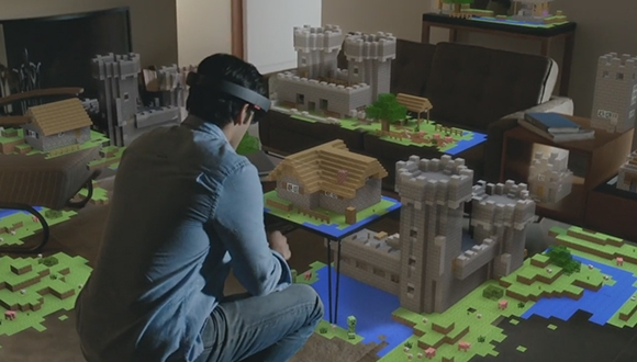 Microsoft HoloLens Tanıtıldı
