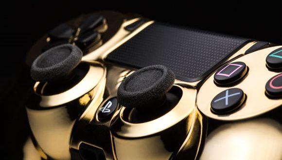 Altın Kaplama PS4 ve Xbox One Joystick'i