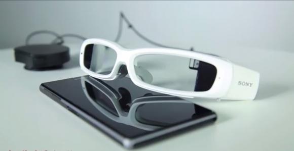 İşte Sony'nin Akıllı Gözlüğü SmartEyeglass