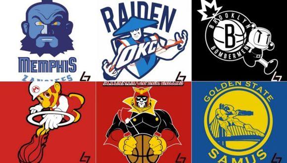 NBA Logoları Oyunlarla Hayat Buldu