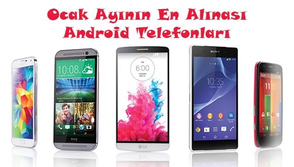 Ocak Ayının En İyi Android Telefonları