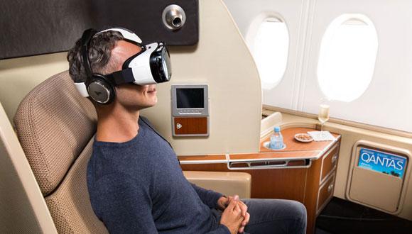 Sanal Gerçeklik Uçakta da Sizinle