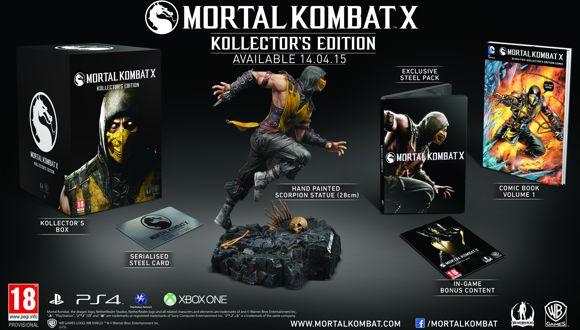 Mortal Kombat X'in Paketleri Belli Oldu