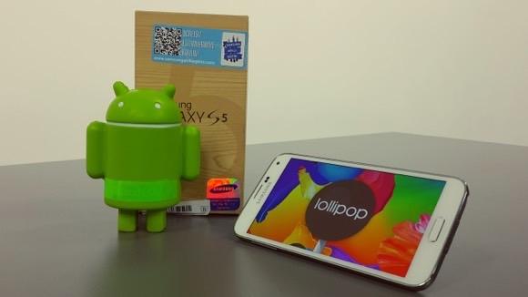 Galaxy S5 için Android 5.1.1 Çıktı!