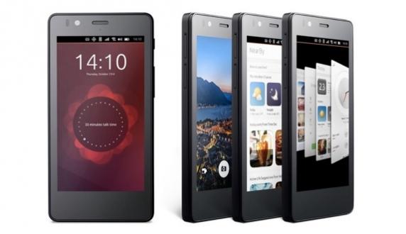Ubuntu'lu İlk Telefon Haftaya Geliyor