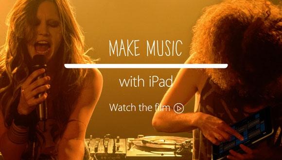 iPad Air 2'den Müzik Temalı Reklam