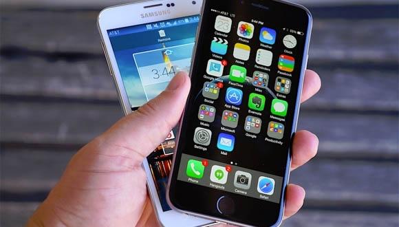 Galaxy S6 ile iPhone 6 Tasarımları Karşılaştırıldı