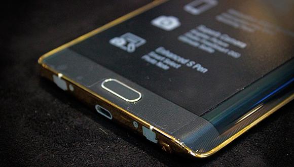Altın Kaplama Galaxy Note Edge