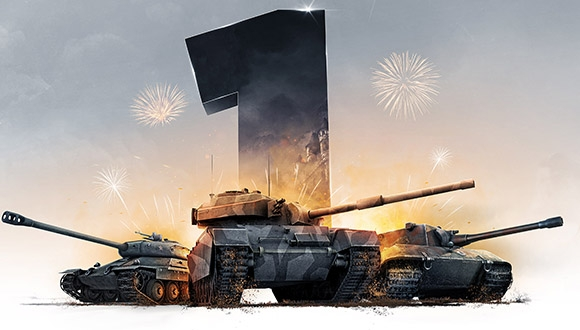 World of Tanks: Xbox 360 Edition Birinci Yılını Kutluyor